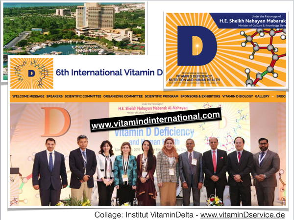 in Abu Dhabi: 6. Vitamin D Kongress 2017